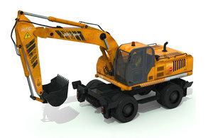 3D excavator truck