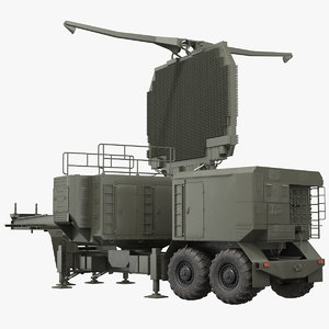 3D long range surveillance radar model