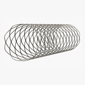 3D rigged stent model