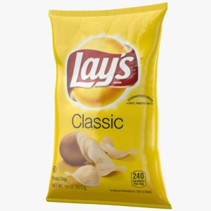 3D lay s chips bag