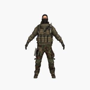 terrorist v4 3D