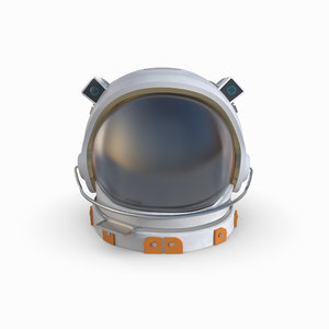 redshift helmet astronaut 3D