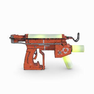 3D model 2018 injector sci-fi