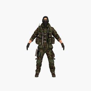 3D terrorist v5