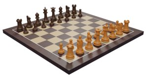 wooden chess set model