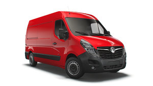 3D vauxhall movano 3300 l2h2