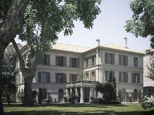 3D provencal house