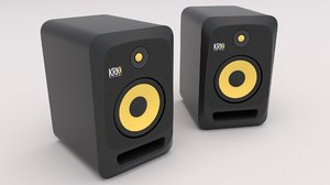 krk v8 s4 studio 3D model