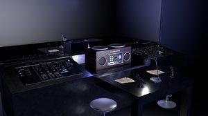 room radio 3D model