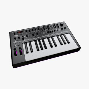 novation afx station 25-key 3D model
