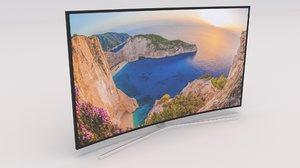 3D model samsung 4k smart tv