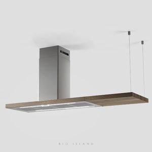 wood elica 3D model