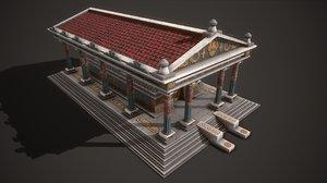 ancient temple artemis 3D