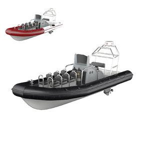 3D rhib boat - tx760