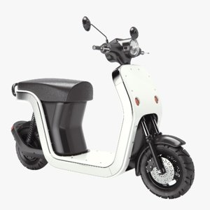 scooter electric 3D