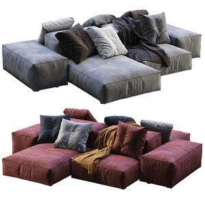 livingdivani sofa extra wall 3D