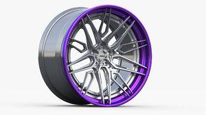 adv1 wheels track spec 3D model
