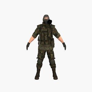 3D terrorist v8