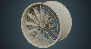 3D industrial fan 2b