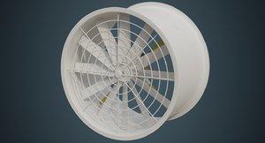3D industrial fan 2a