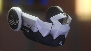 3D mask 4k model