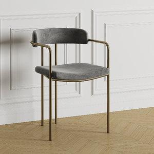 3D lenox chair