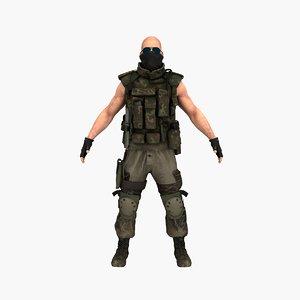 terrorist v9 3D model