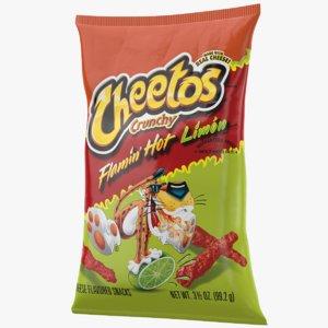 cheetos bag 3D model