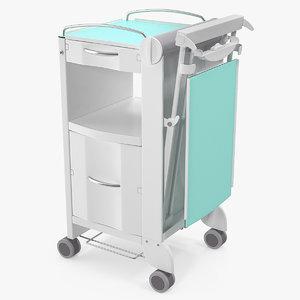 3D self service bedside cabinet