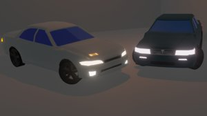 cars drifting 3D