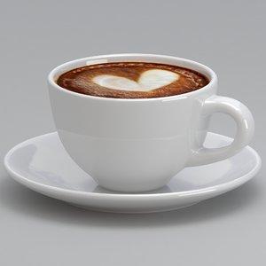 coffee mug 4 3D model