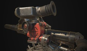 balkan gun 3D