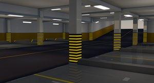 underground parking model