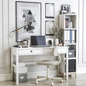 3D office chair lamp