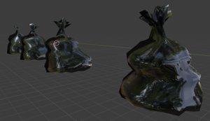garbage bag - pbr 3D model