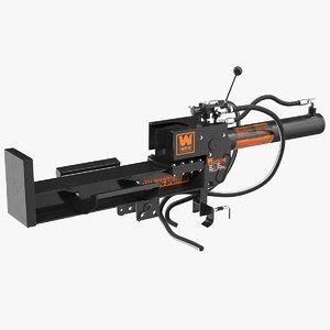 hydraulic log splitter wen 3D model