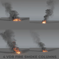 Fire Smoke Column PACK