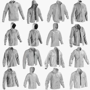 mesh jackets 1 - 3D model