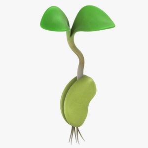 3D growing seed 01
