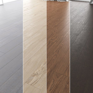 floor set 02 wood 3D