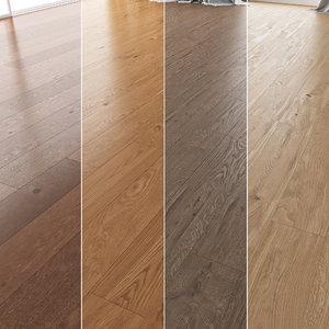 3D floor set 05 wood
