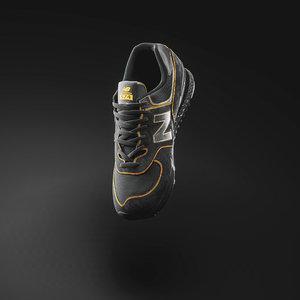 3D new balance shoe unreal model