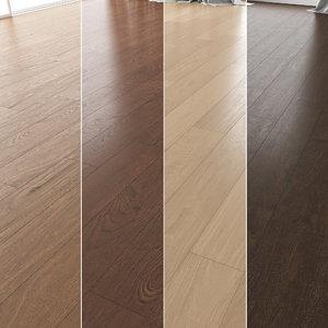 floor set 06 wood model