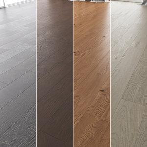 floor set 07 wood 3D model
