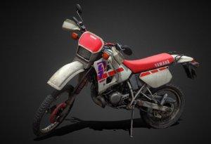 yamaha dt 125 r 3D model