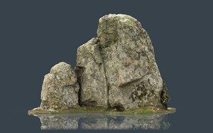rock 35 3D model