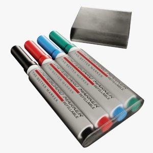whiteboard markers model