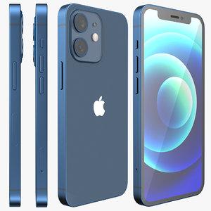 3D iphone 12 mini model