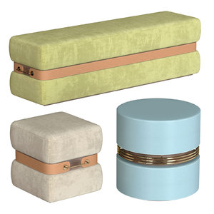 poufs mezzo set model