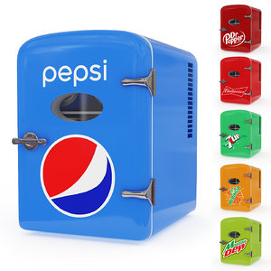 pepsi cola mini fridge model